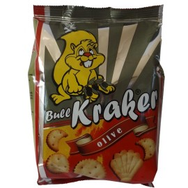 Kreker with olive