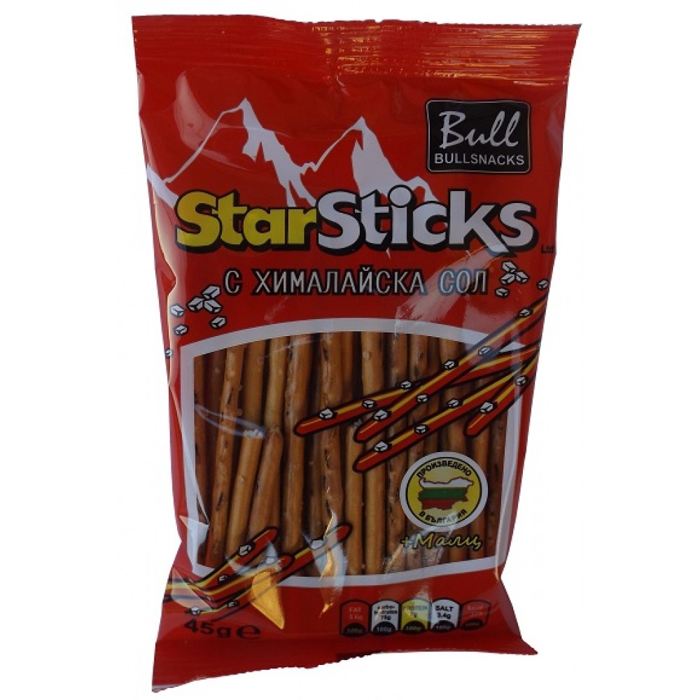 Salt sticks with Himalayan salt and malt